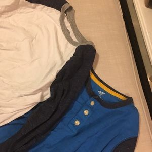 Boys long sleeve T-shirts Large